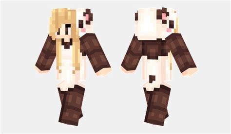 panda onesie skin  minecraft minecrafteo