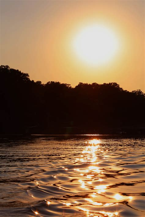 Sunset Over Lake Of The Ozarks Wayfarer