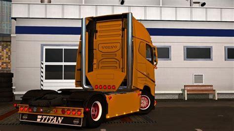 mbl volvo addon pack  tuning mod euro truck simulator
