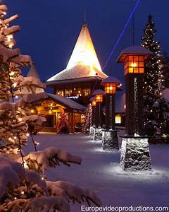 Santa Claus Village and Arctic Circle Line in Rovaniemi ...