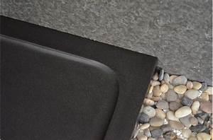 Receveur Douche Couleur : receveur de douche en basalte noir de mongolie 80x80 ~ Edinachiropracticcenter.com Idées de Décoration