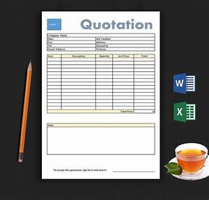 Templates For Proposals 9 Free Blank Estimate Templates Corporate Business