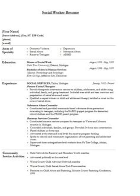 15518 social worker resume 1000 images about social work careers on