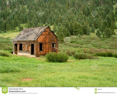 arkansas mine cabins forgotten cabin stock image cartoondealer 46257229