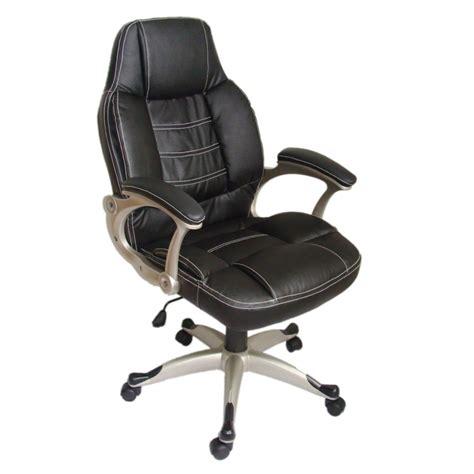 la boutique en ligne fauteuil de bureau en cuir m 233 lang 233 noir vidaxl fr