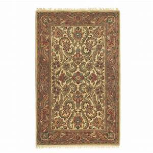 Home Decorators Collection Chantilly Beige/Rust 12 ft. x ...
