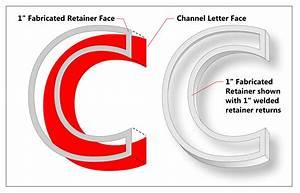 designing award winning signs fabricated channel letter With fabricated channel letters