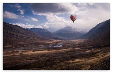 colorful hot air balloon ride hd desktop wallpaper high