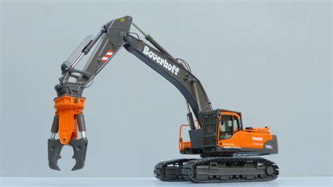 nzg volvo eccld demolition excavator  cranes  tv youtube