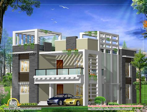 modern house plan march 2012 kerala home design and floor plans