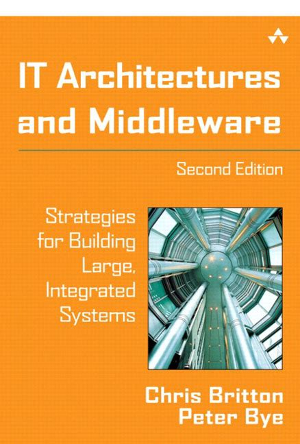 Pearson Education It Architectures And Middleware