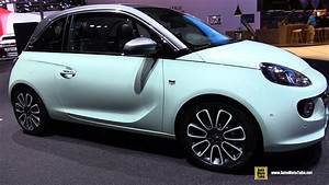 Opel Adam Unlimited : 2018 opel adam unlimited exterior and interior walkaround 2017 frankfurt auto show youtube ~ Medecine-chirurgie-esthetiques.com Avis de Voitures