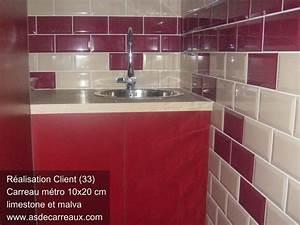 Carreau Metro Blanc : inspiration des r alisations ambiances de nos clients carrelage faience salle de bain ~ Preciouscoupons.com Idées de Décoration