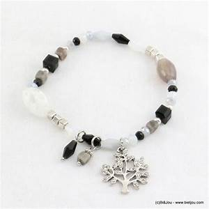bracelet elastique avec pendentif arbre de vie grossiste With destockage bijoux fantaisie