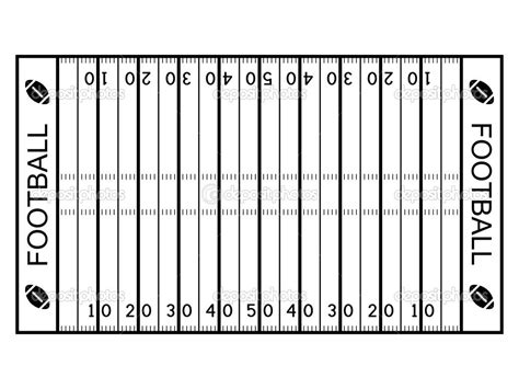 Blank Football Field Template by Best Photos Of Football Field Diagram Template Blank