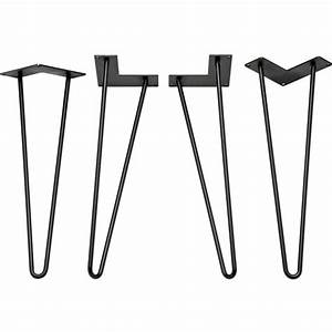 I-Semble Hairpin Table Legs Rockler Woodworking and Hardware
