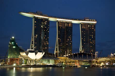 Marina Bay Sands Singapore Facts Pod