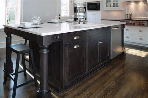 hardware for espresso cabinets espresso kitchen island traditional kitchen mullet