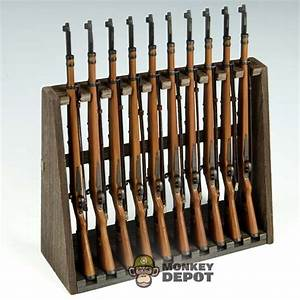 Wooden Rifle Rack