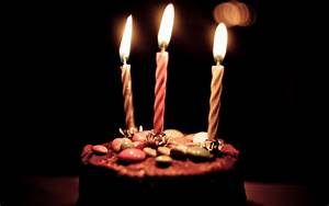 Top 20 Chocolate birthday cake with candles Images ...