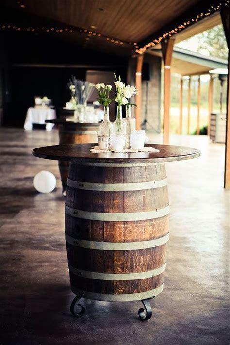 diy whiskey barrel 15 whiskey barrel wedding ideas