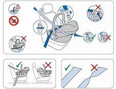 как пристегнуть детское сиденье