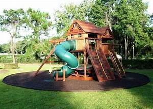 Jeux Exterieur Bois Enfant : aire de jeux en plein air pour vos petits en 40 id es ~ Premium-room.com Idées de Décoration