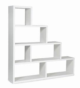 Etagere Blanche Murale : etag re scala blanc ~ Teatrodelosmanantiales.com Idées de Décoration