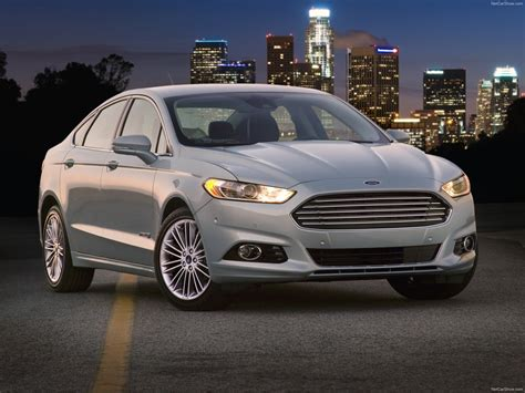 ford fusion hybrid  pictures information specs
