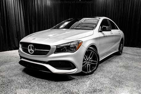 2018 Mercedes-benz Cla 250 4matic® Coupe Peoria Az 20869589