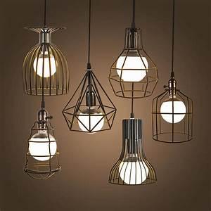 Luminaire Industriel Vintage : lampe suspendue vintage loft industriel r tro d coindustriel ~ Teatrodelosmanantiales.com Idées de Décoration