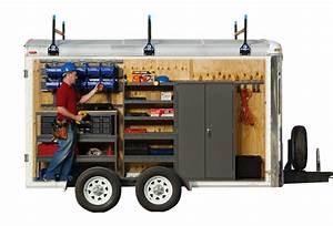 Trailer Storage: Cargo Trailer Storage Shelves