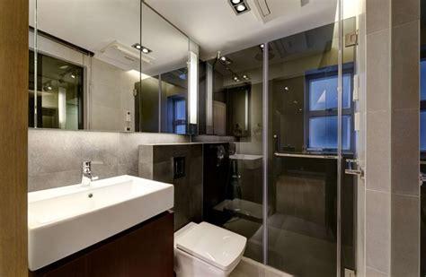 Modern Apartment Bathroom by Modern Small Warm Apartment Contemporary Bathroom