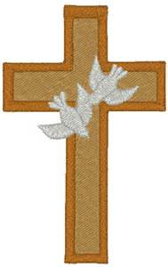 Christian Cross and Dove