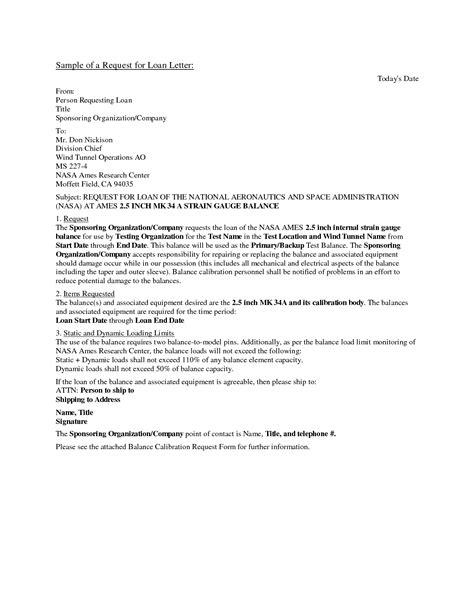 sample application letter  bank  loan page