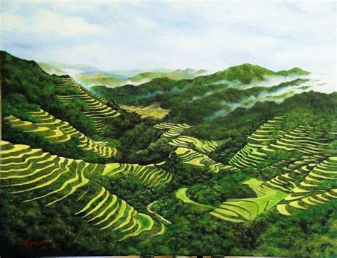 philippine rice terraces  craftsy