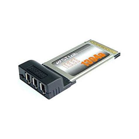 port pcmcia firewire card computer alliance