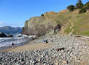 Mile Rock Beach At Lands End San Francisco Ca