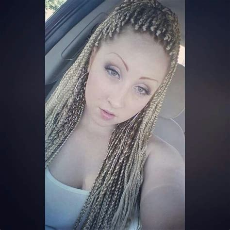white girl box braids beauty braids braided