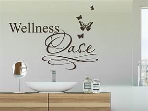 Wandtattoo Bad Günstig : wandtattoo wellness oase mit schmetterlingen wandtattoo de ~ Markanthonyermac.com Haus und Dekorationen
