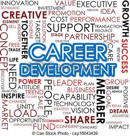 12862 career development clipart drawings of career development word cloud image with hi