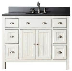 avanity hamilton vanity 42 quot french white country