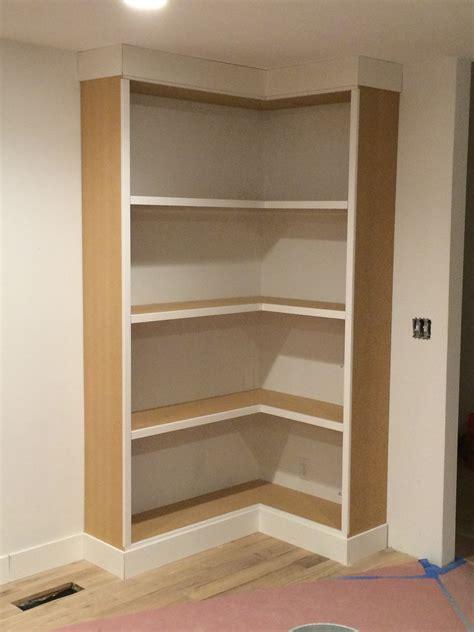 Bookshelf Astonishing Corner Bookcase With Doors