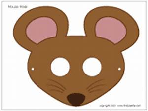 mouse mask printable templates coloring pages With mouse mask template printable