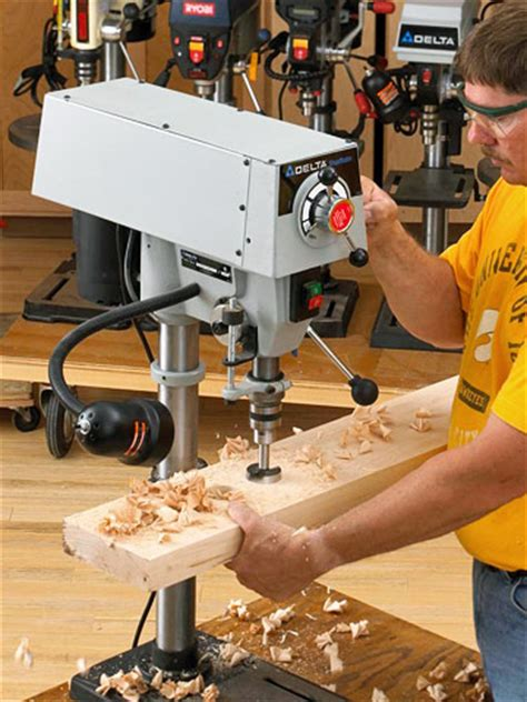woodworking tool review benchtop drill presses