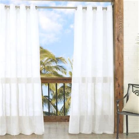 Outdoor Curtains Bed Bath And Beyond by Buy Sheer Outdoor Curtains From Bed Bath Beyond