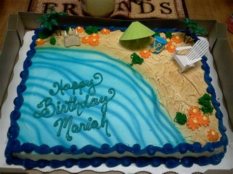 walmart birthday cake designs great cake for summer bdays or luau theme available