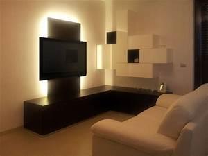 Modern Corner Wall Unit / Entertainment Center Custom
