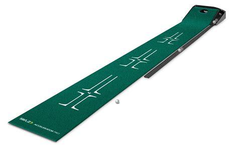 sklz putting mat sklz accelerator pro return putting mats