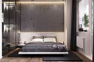 Schrank Mit Vorhang : 1001 ideen f r schlafzimmer grau gestalten zum entlehnen ~ Michelbontemps.com Haus und Dekorationen